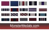 BRITISH ORDERS & GALLANTRY MEDAL RIBBON